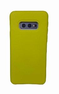 Case Silicone Sam S10 Lite Amarela
