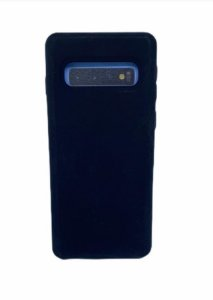 Case Silicone Sam S10 Plus Preta