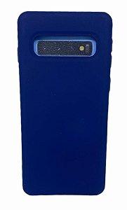 Case Silicone Sam S10 Azul Marinho