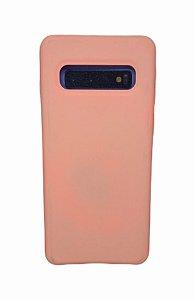 Case Silicone Sam S10 Rosa