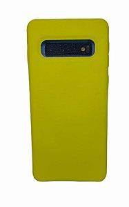 Case Silicone Sam S10 Amarela