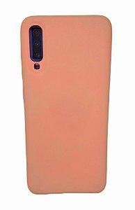 Case Silicone Sam A70 Rosa