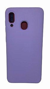 Case Silicone Sam A20 / A30 Lilas