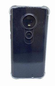 Case Tpu Reforçado Moto G7 Transparente