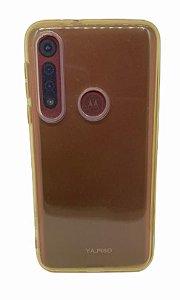 Case Tpu Reforçado Moto Macro / G8 Play Amarela