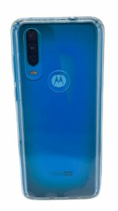 Case Icool Krystal Moto One Action Transparente