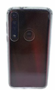 Case Icool Krystal Moto G8 Plus Transparente