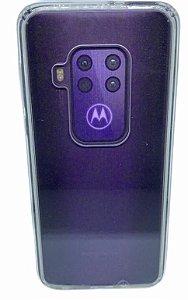 Case Icool Krystal Moto One Zoom  / One Pro Transparente