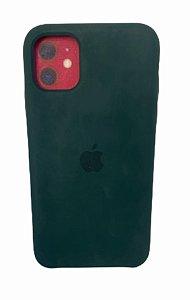 Case Silicone IP 11 Verde Escuro