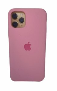 Case Silicone IP 11 Pro Rosa