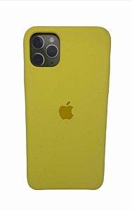 Case Silicone IP 11 Pro Max Amarela
