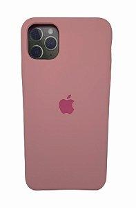 Case Silicone IP 11 Pro Max Rosa