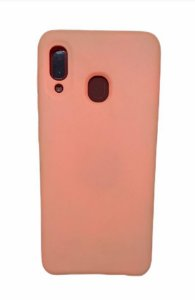 Case Silicone Sam A20 / A30 Rosa