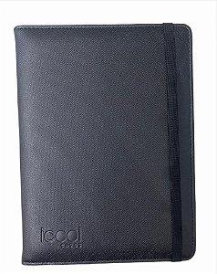 "Case Icool Tablet 10"" Couro Preto"