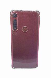 Case Tpu Reforçado Moto G8 Play Transparente
