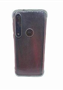 Case Tpu Reforçado Moto G8 Plus Transparente