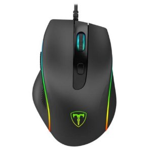 Mouse Gamer T-Dagger Recruit 2, RGB 3200 DPI, 6 Botões, Black, T-TGM108
