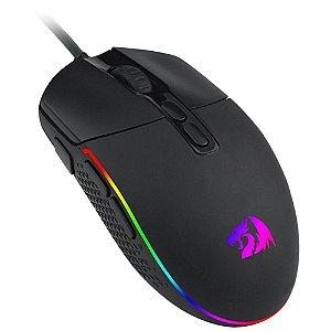 Mouse Gamer Redragon Invader Chroma M719-RGB, 10000 DPI, 8 Botões Programáveis, Black
