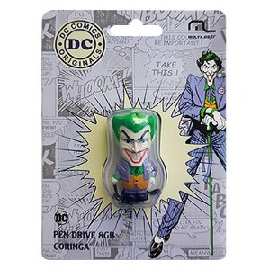 Pen Drive 8GB PD088 Coringa Dc Comics Multilaser