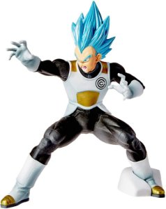 Action Figure Dragon Ball Heroes - Vegeta Transcendence Art Bandai Banpresto Multicor