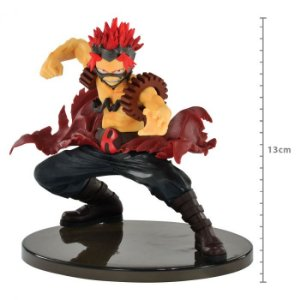 FIGURE MY HERO ACADEMIA THE AMAZING HEROES VOL4 - EIJIRO KIRISHIMIA - RED RIOT REF: 34963/34964