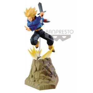 Boneco Dragon Ball Z Trunks Absolute Perfection Bandai Banpresto