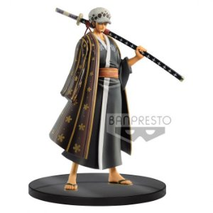 FIGURE ONE PIECE DXF THE GRAND LINE MEN WANOKUNI VOL3 TRAFALGAR LAW REF: 20221/20222
