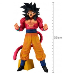 FIGURE DRAGON BALL GT - SUPER MASTER STARS PIECE - GOKU SAIYAJIN 4 - THE BRUSH REF.27947/27948