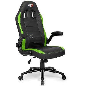 Cadeira Gamer GTi - Green DT3 - com almofada de cabeça