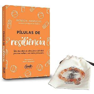 Pílulas de Resiliência + Pulseira Ágata de Fogo