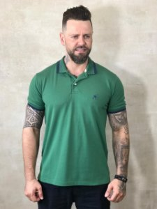 Polo Tonon Premium Verde Bandeira