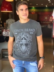 CAMISETA TONON SKULL MACHINE