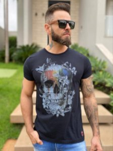 CAMISETA TONON COLOR SKULL