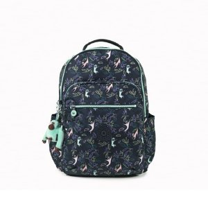 MOCHILA KIPLING SEOUL JUNGLE MONKEYS 27 LITROS