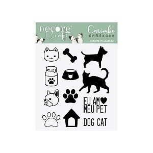 LANÇ / CARIMBO de SILICONE - Pets