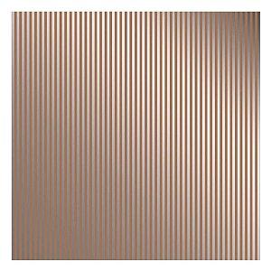 PAPEL KRAFT METALIZADO - LISTRAS PRATEADO- 180g - 30,5 x 30,5 cm