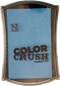 Carimbeira Pigment Ink Color Crush – Azul Aqua