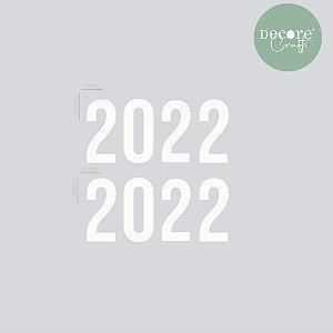 APLIQUE DECORATIVO OFFWHITE 2022 - 2MM