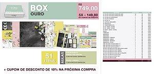 TENDA BOX - OURO
