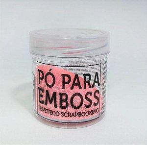 PÓ PARA EMBOSS RPTCO SCRAP - ROSA OPACO