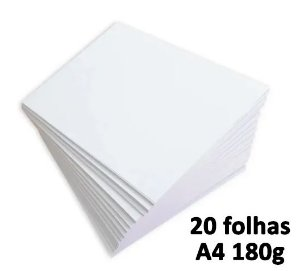 Papel a4 180g Chambril - 21 x 29mm | 20 unidades