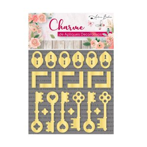 CHARME DE APLIQUES DECORATIVOS MIX