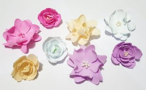 Charme de Flores Artesanais - Foam Soft - Amor Eterno Baby Menina