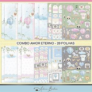 Combo Amor Eterno Baby - 20 Folhas