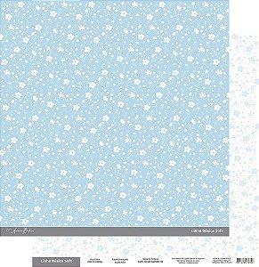 Coleção Básica Soft Azul Floral