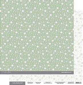 Coleção Básica Soft Verde Oliva  Floral