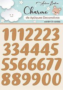 Charme de Apliques Decorativos - Amor Eterno Números