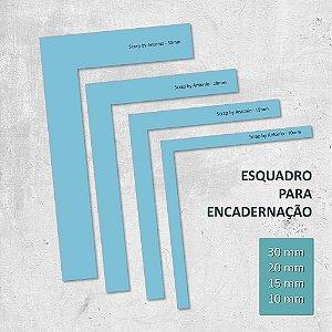 Esquadros para Encadernação -  4 modelos