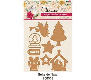 Charme de Apliques Decorativos - Noite de Natal