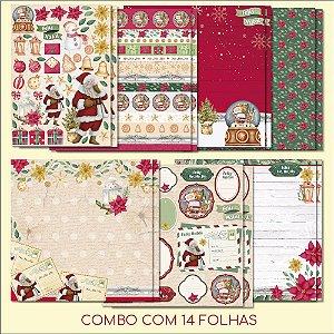 COMBO II - Meu Natal Colorido (14 FOLHAS)